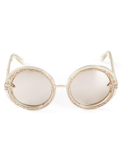 297b01e10e Karen Walker Eyewear  orbit Filigree  Sunglasses - Elite - Farfetch ...