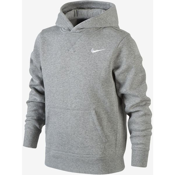 Nike Brushed Fleece Pullover ($41) ❤ liked on Polyvore