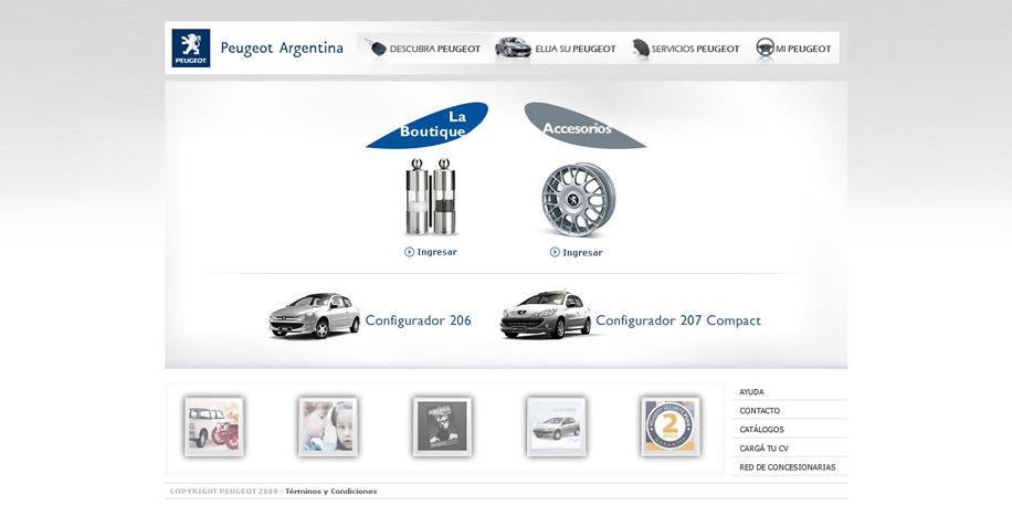 La Boutique Peugeot   Portfolio   Pinterest   Peugeot, Interactive