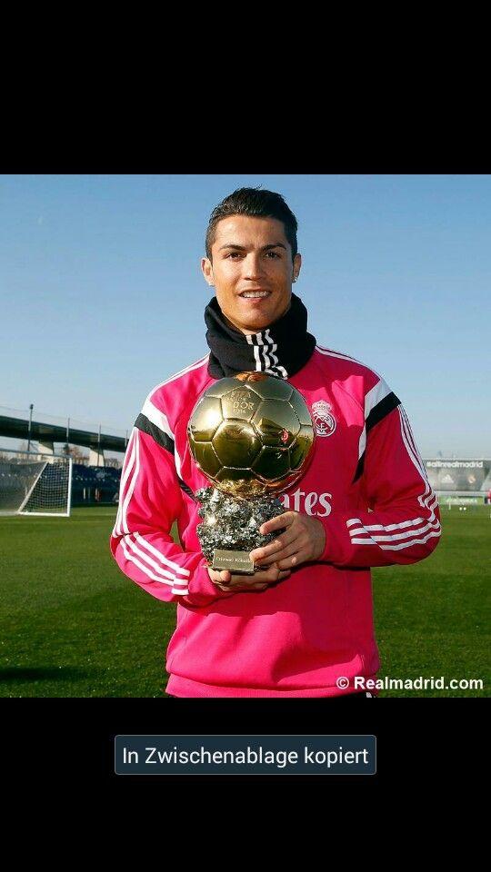 Cristiano Ronaldo Real Madrid Ballon d'Or 2014