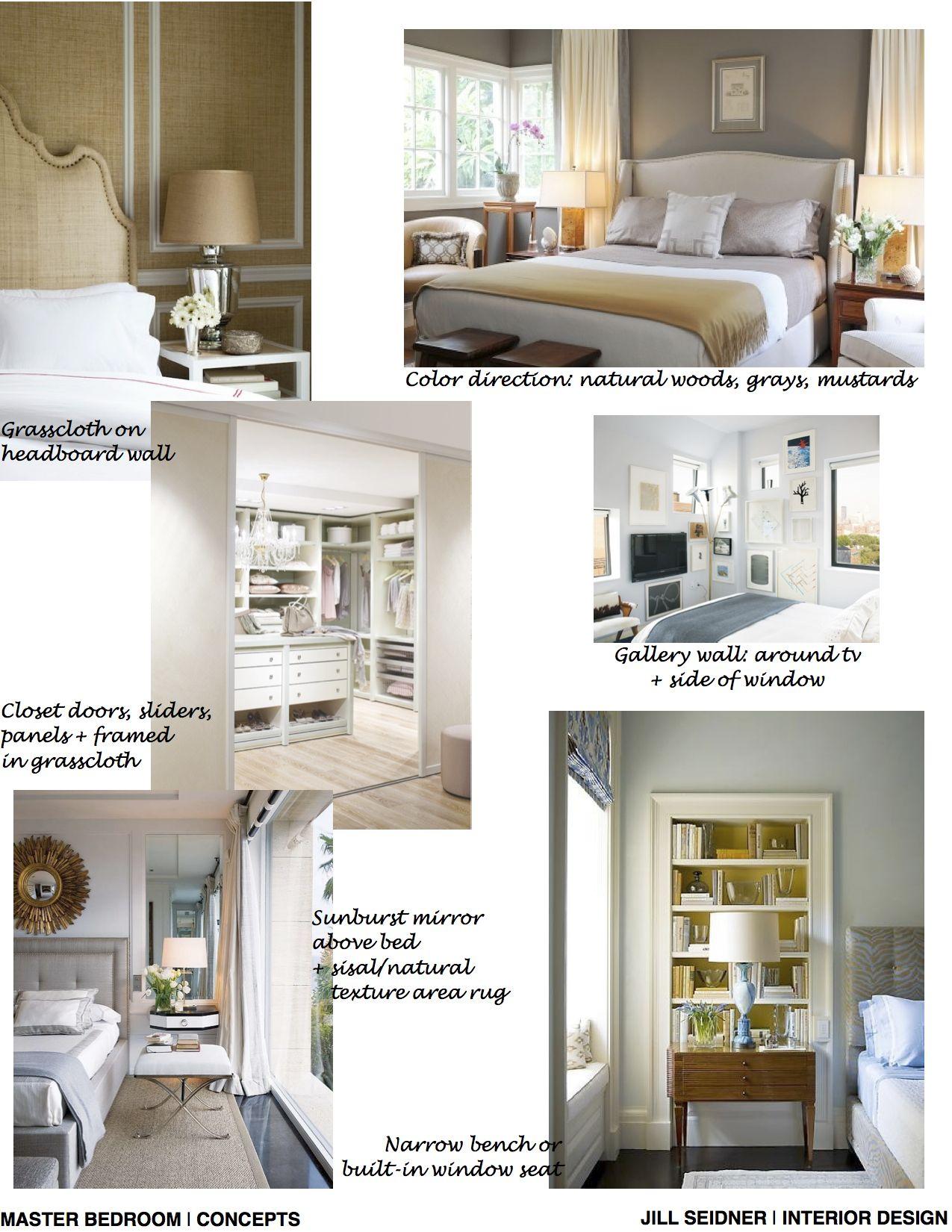 Above window decor  long beach ca residence master bedroom ideas concept board
