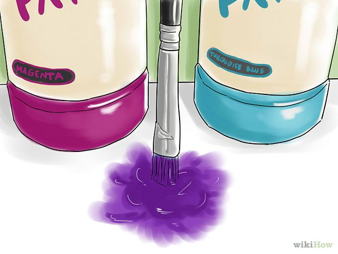 How To Make Purple Paint