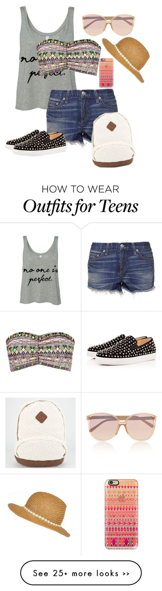 """Summer Outfits for teens"" by leilaaudrinae on Polyvore:"