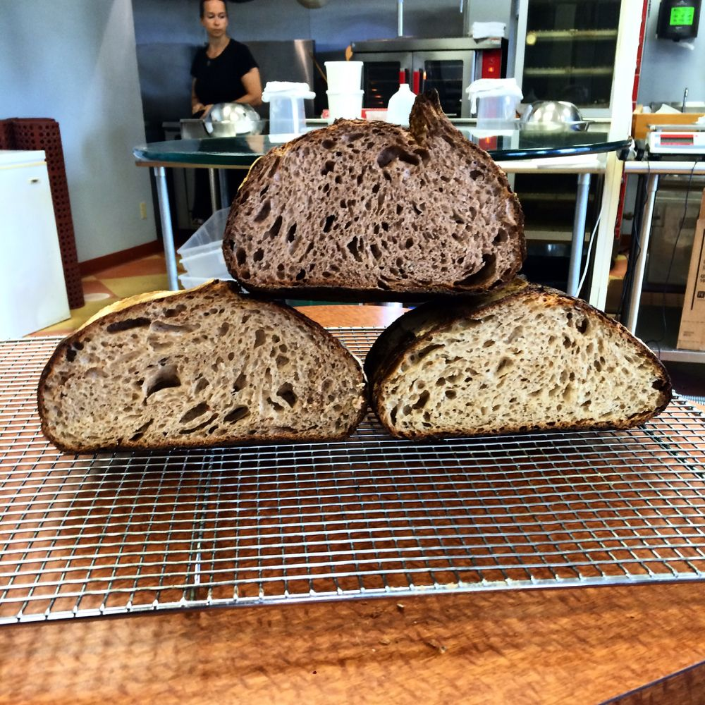 Come learn to make Sourdough bread with us next month! Learn more about our classes at http://www.artisanbreadschool.com
