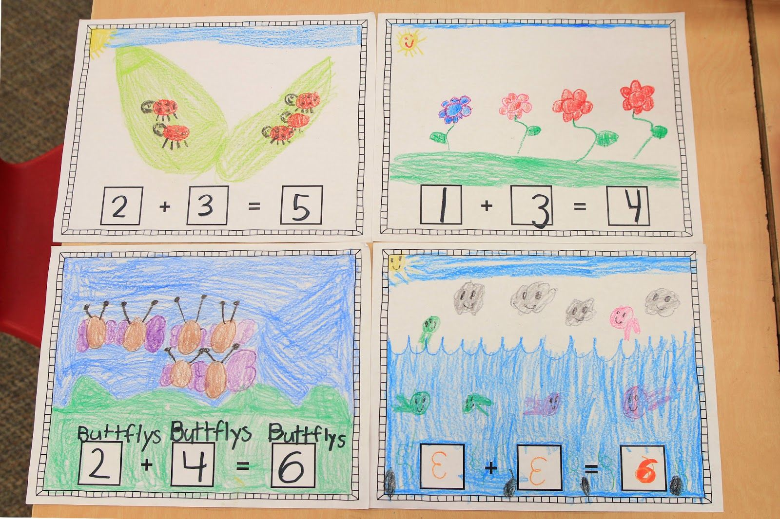 Making Ten Worksheet Kindergarten