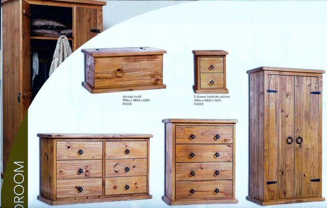 Farmhouse Solid Pine Furniture Honey Pine Bedroom Furnitu For Sale In Redditch Worcestershire Solid Pine Furniture Pine Furniture Furniture