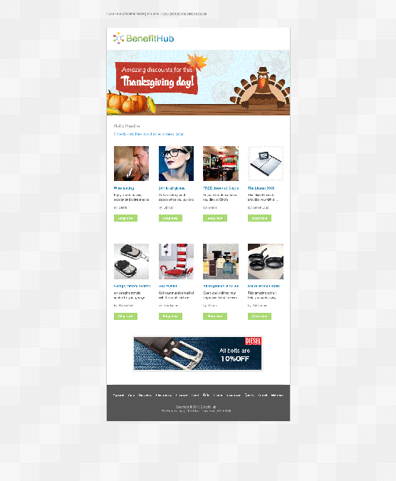BenefitHub Needs a New Email Template and Team Designer by Gelendg