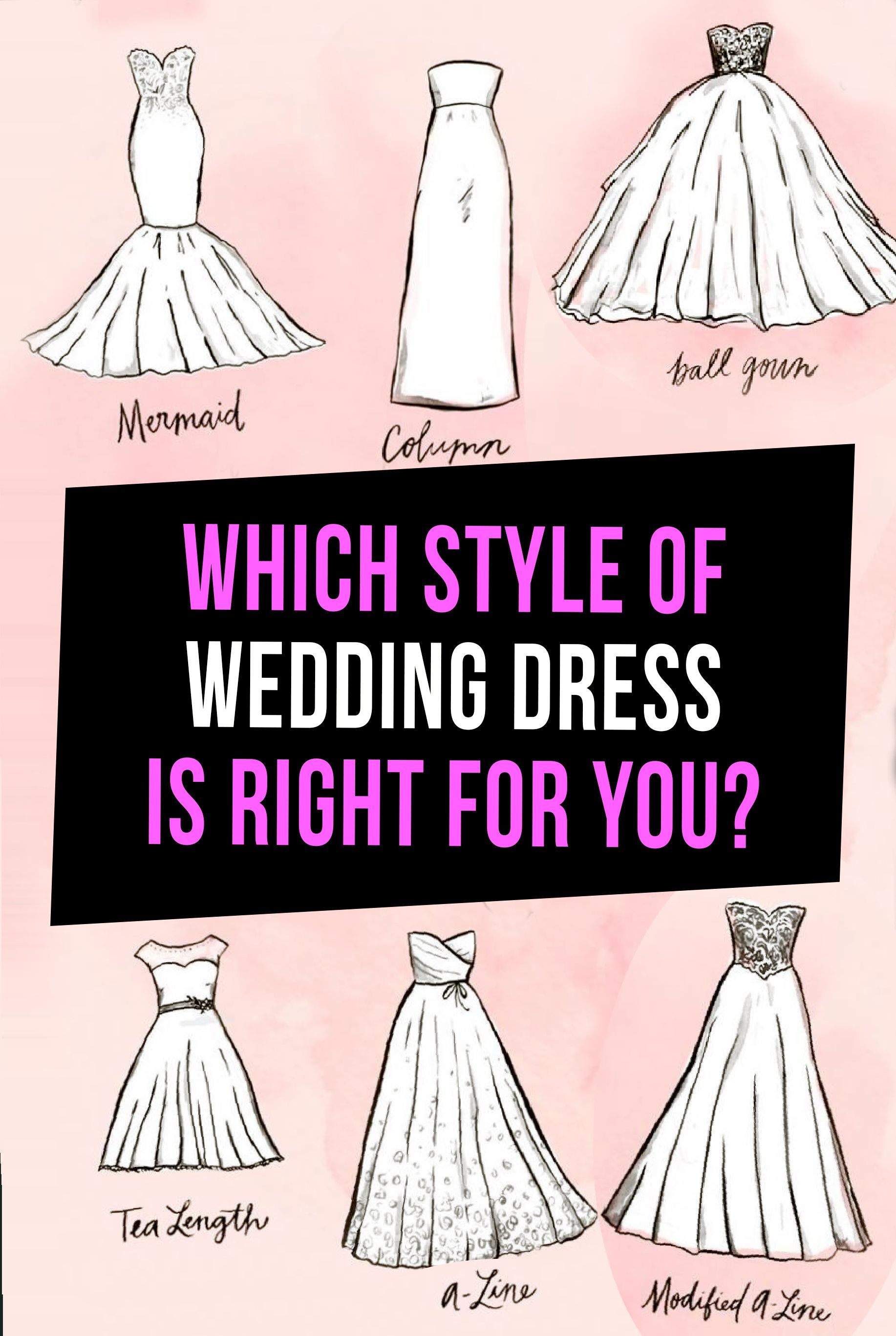 Quiz Which Style Of Wedding Dress Is Right For You Wedding Dress Finder Wedding Dress Styles Dress Quizzes