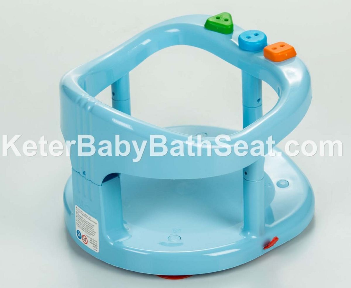 Keter Baby Bath Tub Ring Seat Color Blue- CHARM X2 | PRE-BABY SHOWER ...