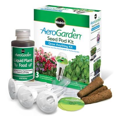 Aerogarden 3 Pod Grow Anything Seed Kit Products Grow 400 x 300