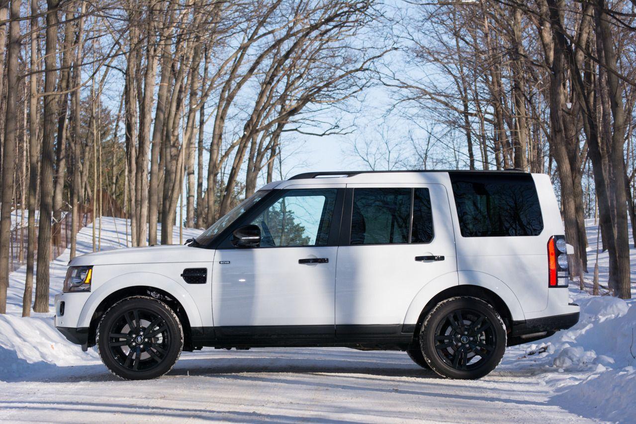2014 Land Rover LR4 - left side