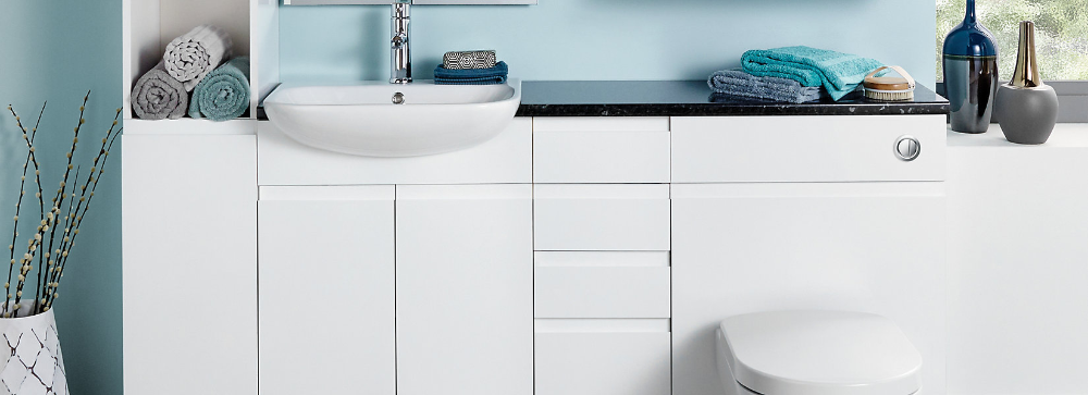 Hertford Fitted Bathroom Furniture Wickes Co Uk Fitted Bathroom Furniture Fitted Bathroom Bathroom Furniture