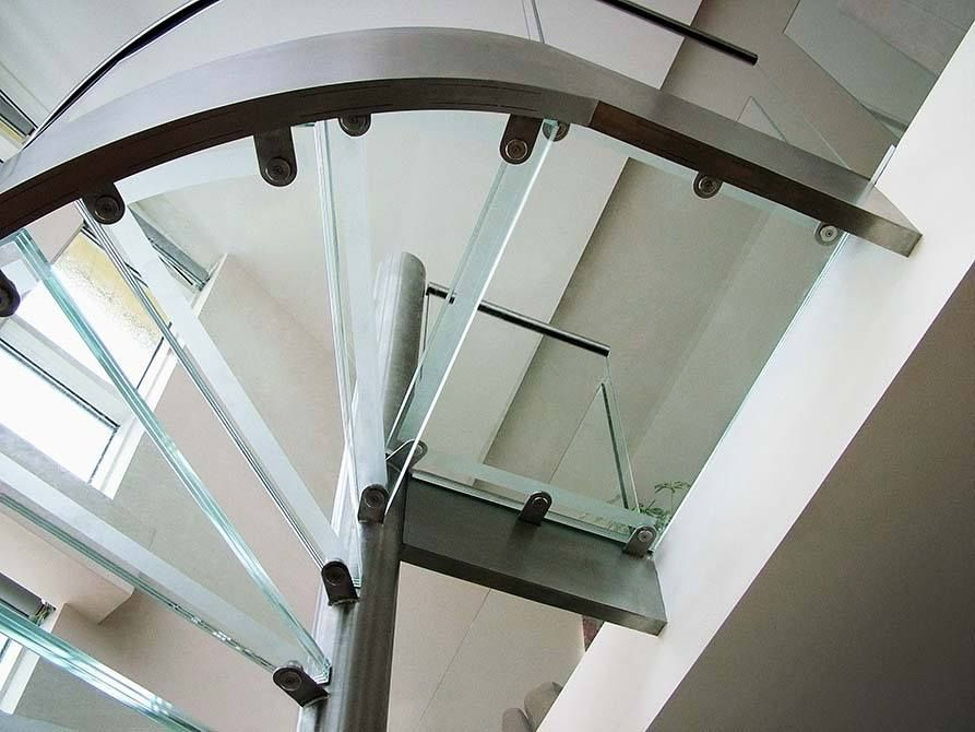 Illuminated Glass Stair Treads
