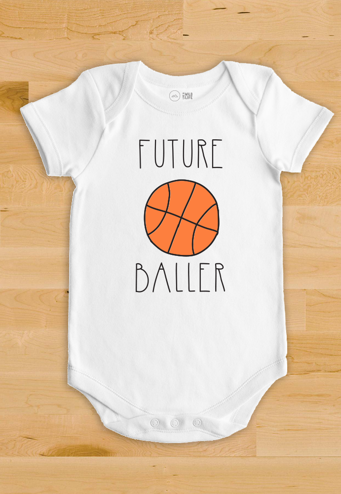 9e8b337c6a7f Basketball Baby Bodysuit - Future Ballers Collection