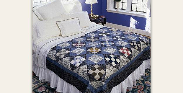 Traditional Blues Make A Timeless Beauty Quilt Ideas