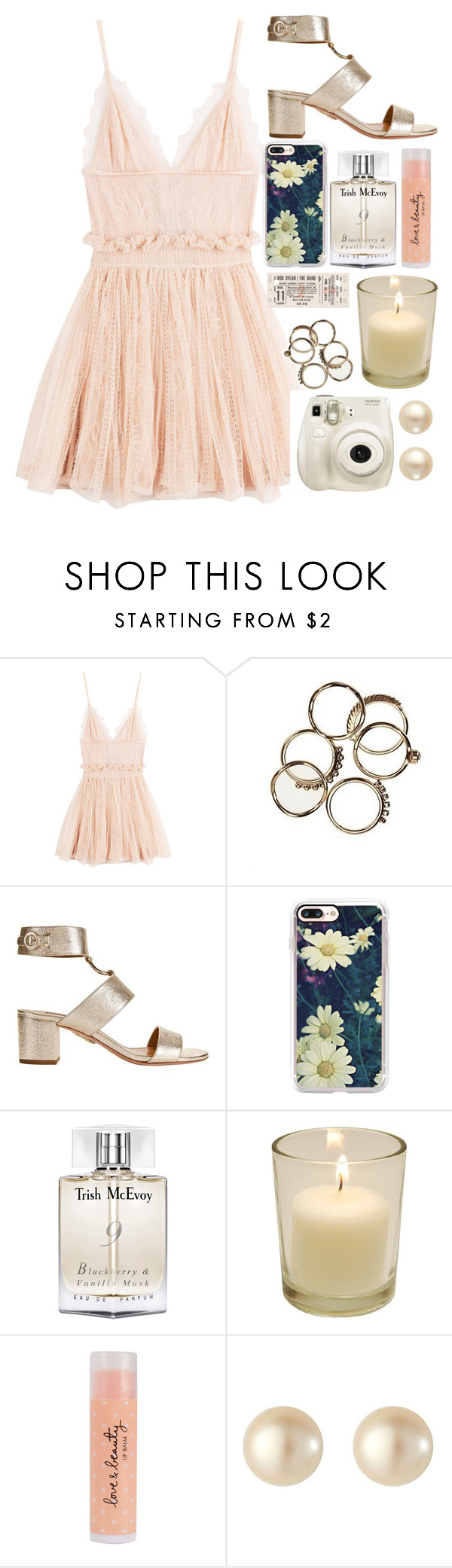 """Hope"" by rosiee22 ❤ liked on Polyvore featuring Alexander McQueen, Aquazzura, Casetify, Trish McEvoy, Forever 21, Fujifilm and VIcenza"