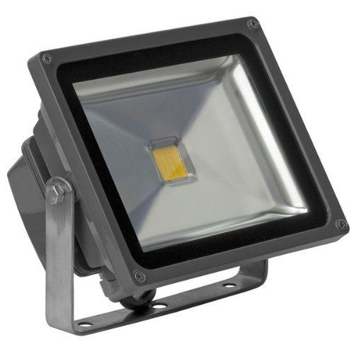 30 Watt Led Waterproof Flood Light Fixture Soft White Operates At 85 To 265 Volts 100 Degree Beam Angle Grey Hous Led Flood Flood Lights Led Lights