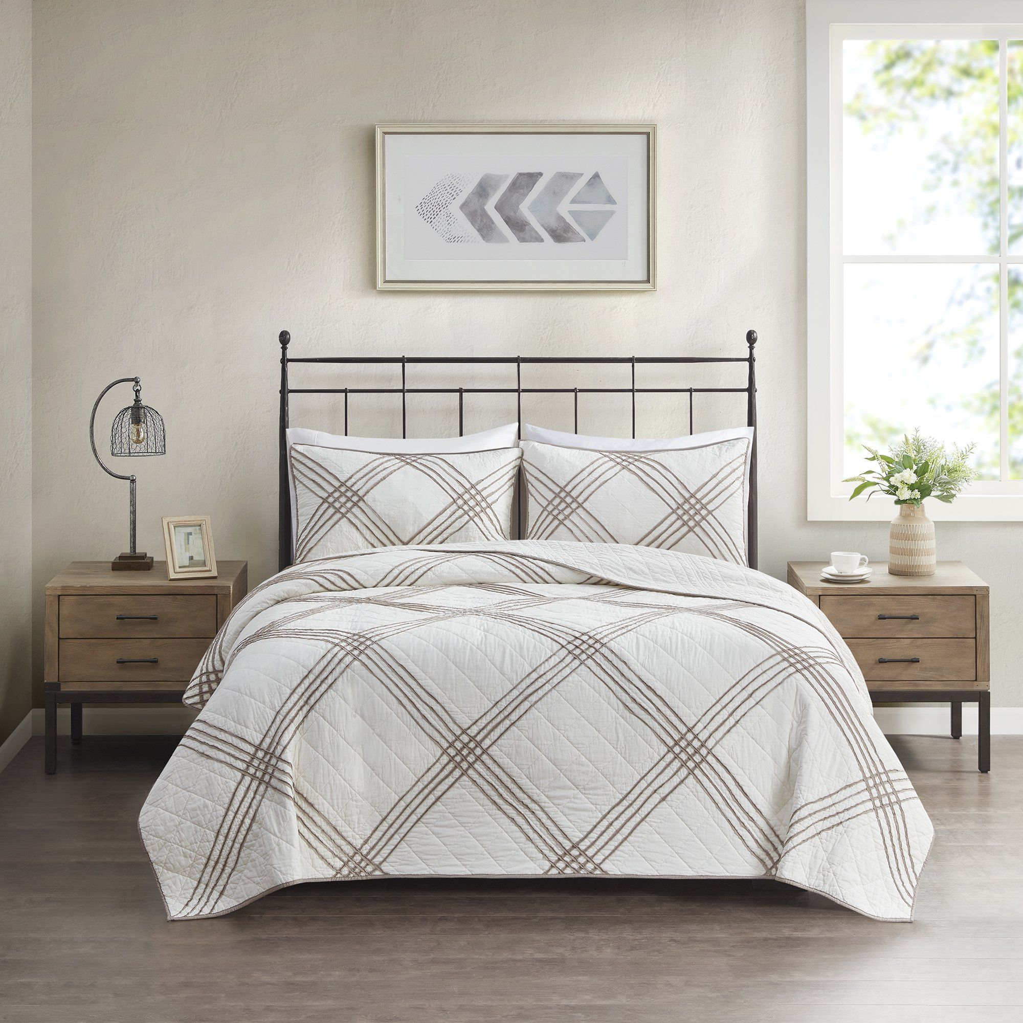 5d35693b3e5e7711657ddae27e53ae1a - Better Homes And Gardens Pleated Diamond Quilt Collection