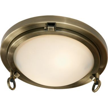 Porthole ceiling light at cabelas