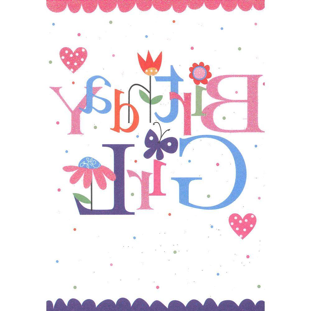 Download Best Of Girl Birthday Cards Girl Birthday Cards Birthday Card Template Cheap Birthday Cards