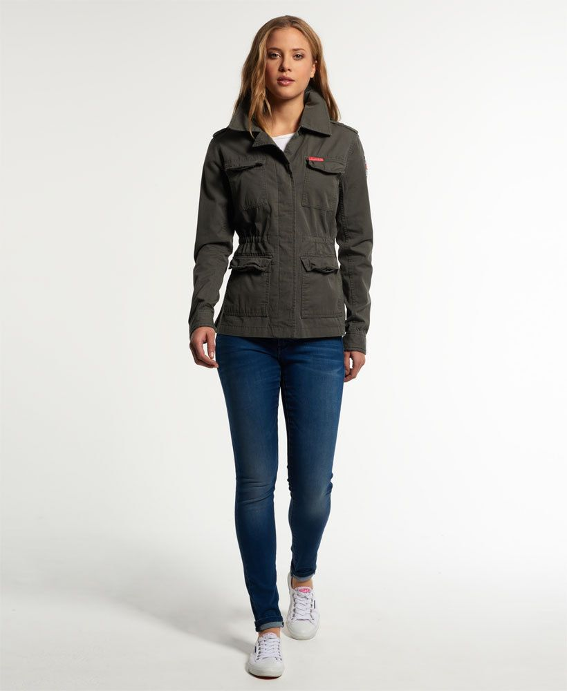 buy online 2779b 1b4b2 Details about New Womens Superdry Rookie Military Blazer ...