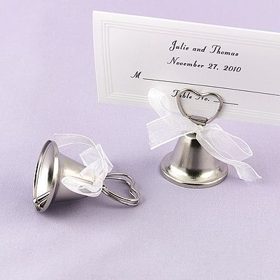 Bell Placecard Holders Wedding