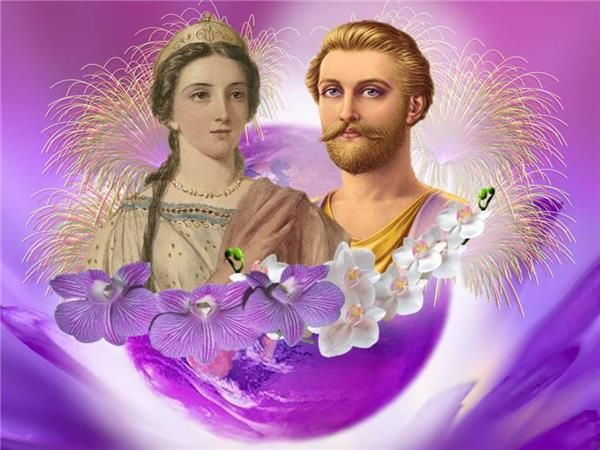 SAINT GERMAIN AND LADY PORTIA HELP TWIN FLAMES -   DIVINE IMAGES