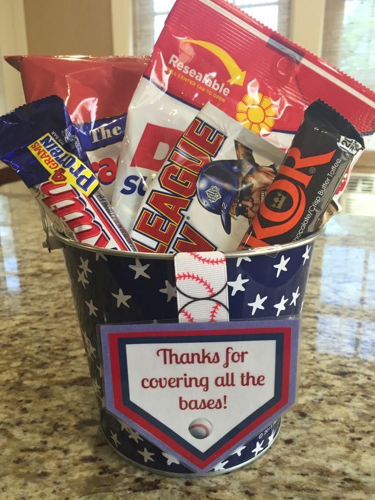 Baseball coach thank you gift little league coach gift