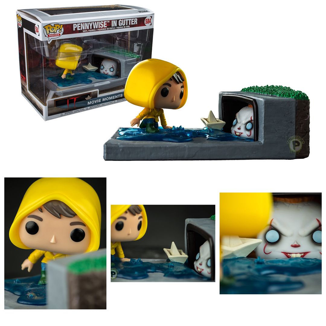 Heres a better look at the Pennywise in Gutter Movie