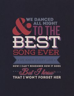 D Best Song Ever Lyrics best song ever - one d...