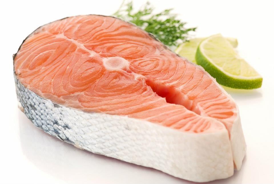 Salmon Steak In 2020 Salmon Steak Salmon Health Benefits Nutrition Blog