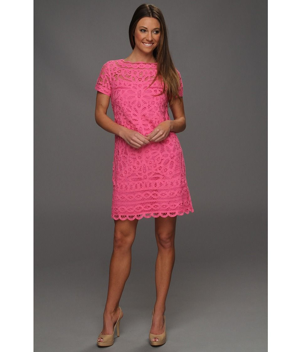 Lilly Pulitzer MarieKate Dress (Hotty Pink) | + How About Fashion + ...