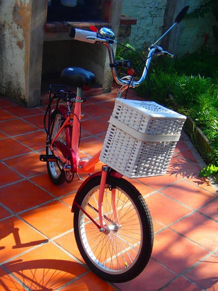 Bicicleta antigua plegable restaurada • Vintage folding bike •