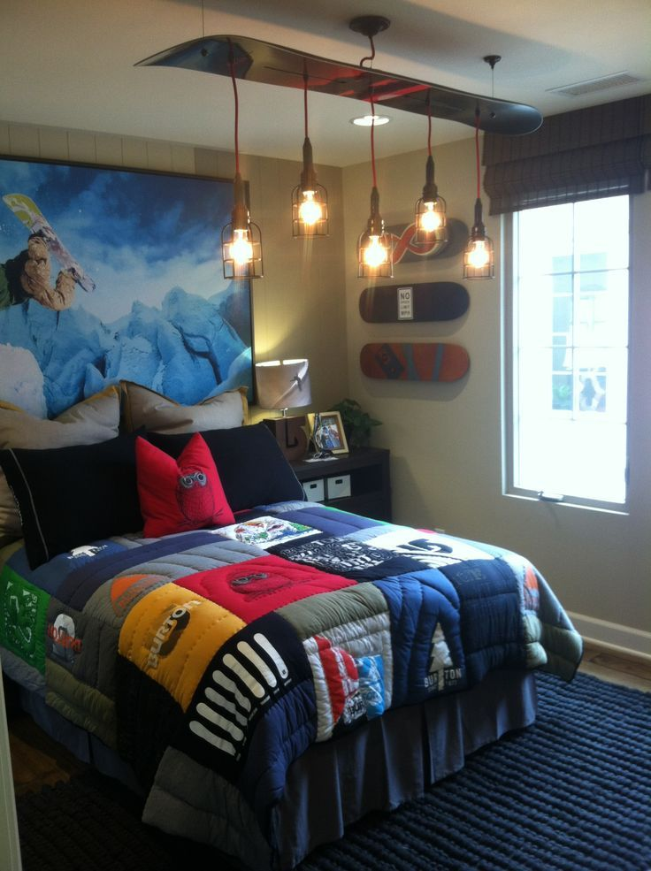 Teenage boys bedroom ideas on pinterest modern home for Teenage bedroom ideas decorating