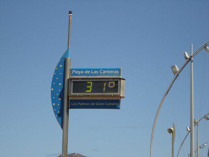 31 grados!!! - Las Palmas de Gran Canária - 2010