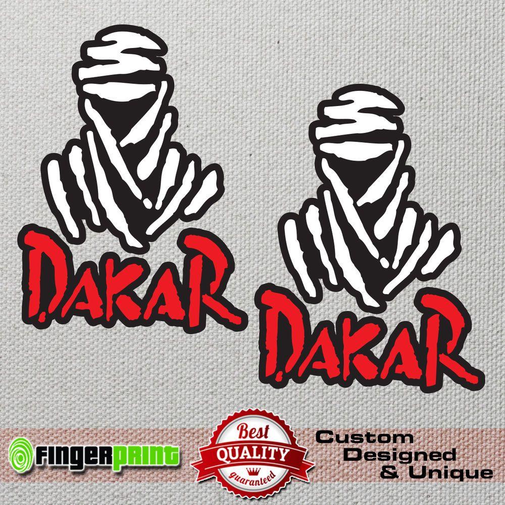 Dakar rally sticker decal vinyl 4x4 off road honda africa twin jeep offroad bmw fingerprintdesign
