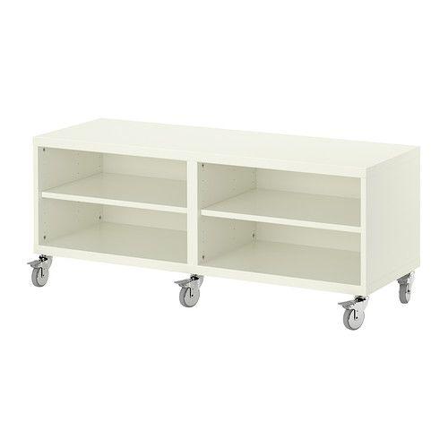 best shelf unit casters ikea tv stand living room pinterest shelves ikea tv stand and. Black Bedroom Furniture Sets. Home Design Ideas