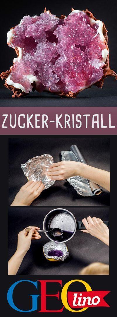 Photo of Rezept: Rezept: Zuckerkristalle
