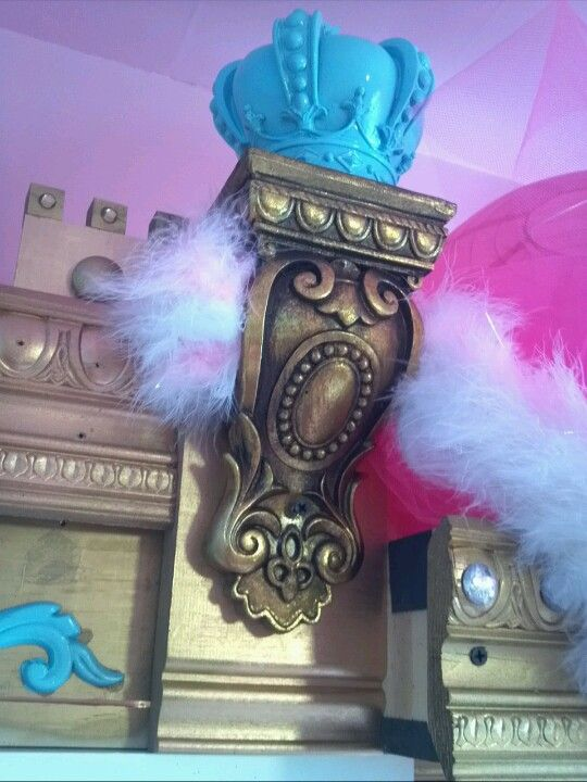 Corbel From Lowes Actually A Curtain Rod Holder The Making Of A Princess Room By Grammie Pinterest