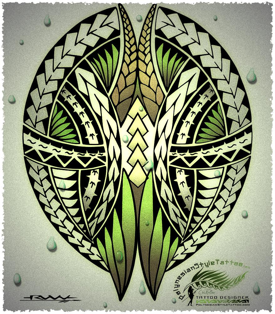 Custom Maori Tattoo Designs: PolynesianStyleTattoo.com Custom Polynesian Style Tattoo