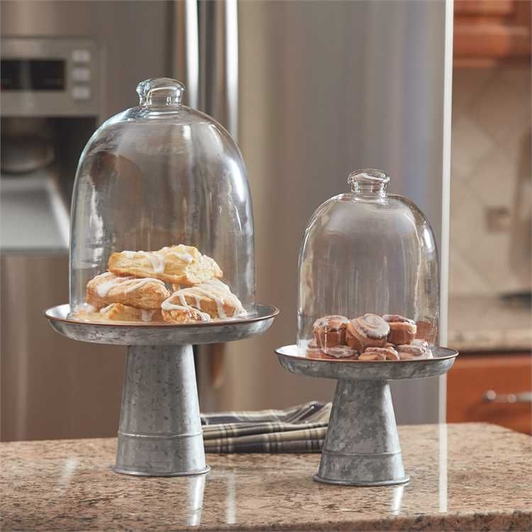 Large edgefield cake stand cake stand with dome