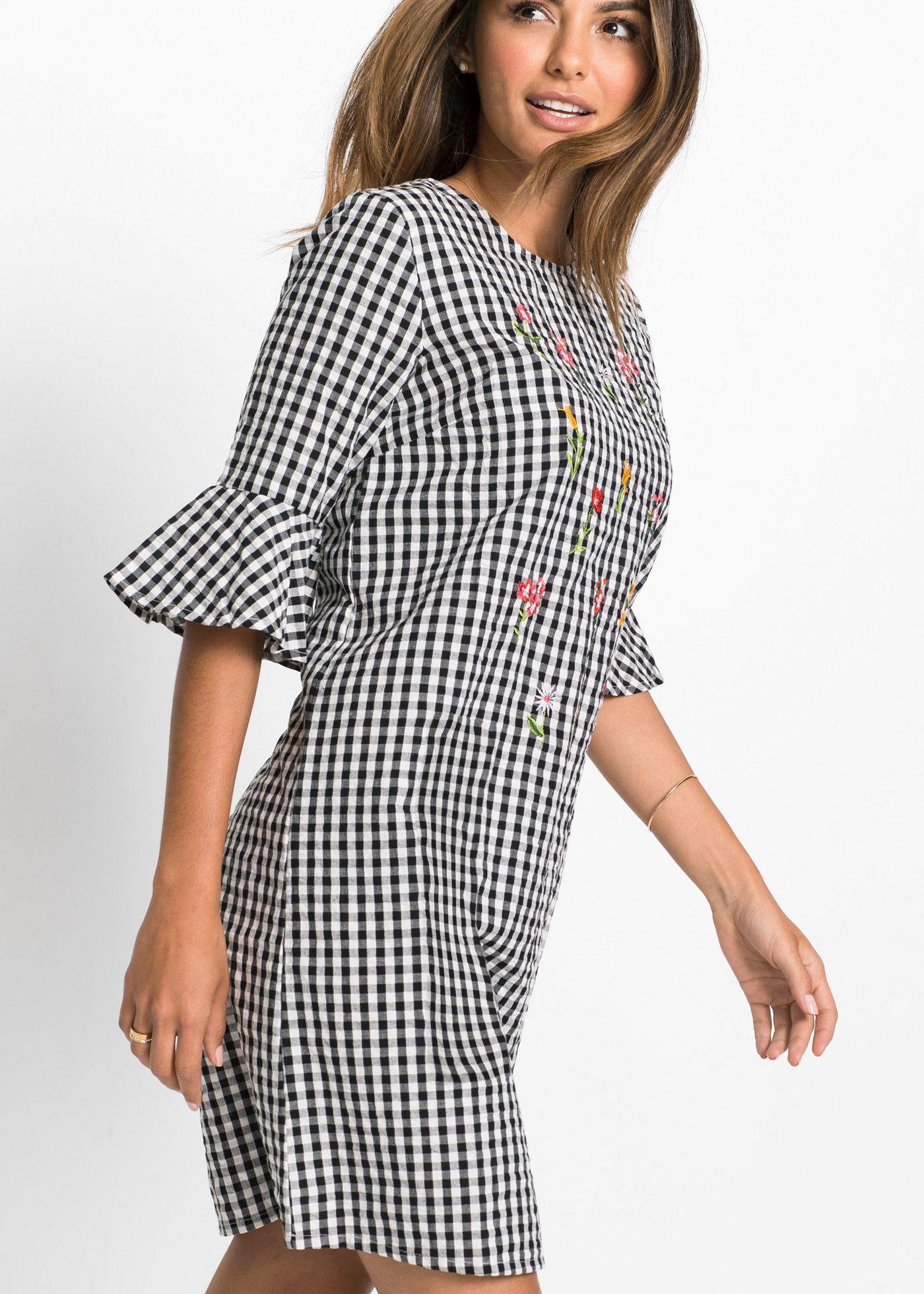 e9d866fdfb5a44 Kleid im Vichy-Karo | We ♥ Karo | Kleider, Karo und Stickerei