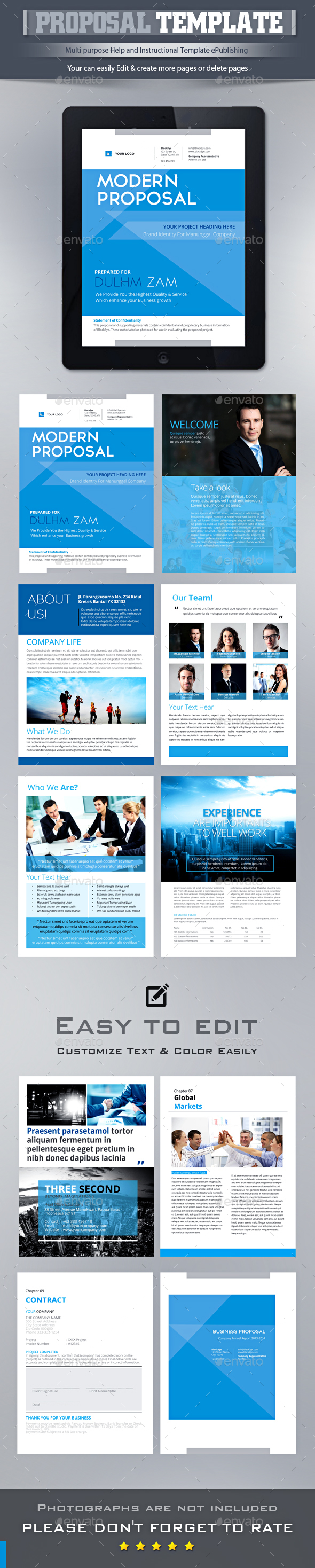 corporate e book template indesign indd design download http
