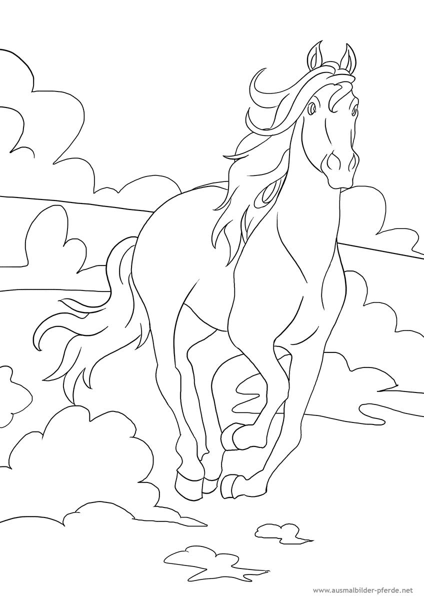 Ausmalbilder Mandala Pferd : 10 Ausmalbild Pferd Png 848 1200 Horse Crafts Pinterest