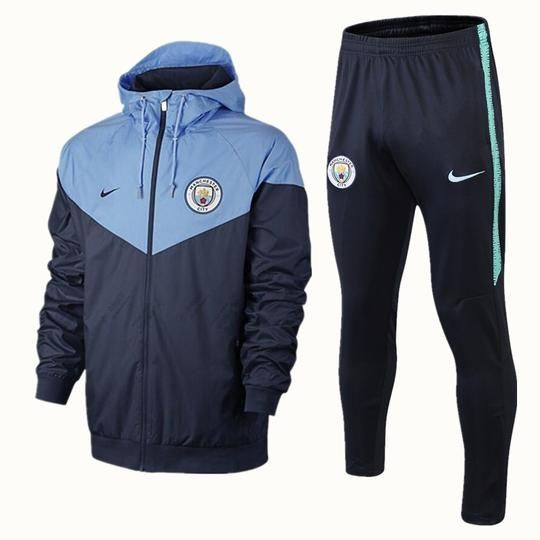 cf2d5ca0b Manchester City F.C. Nike FOOTBALL CLUB 2018 - 19 TRAINING TOP Black  TRACKSUIT FÚTBOL CALCIO SOCCER CLUB FUSSBALL BNWT