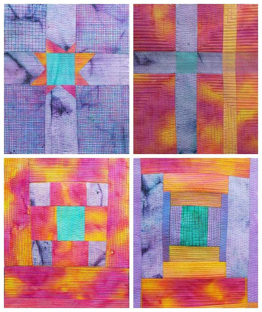 Quilt Routes | Fabric postcards, Fabric cards, Quilts