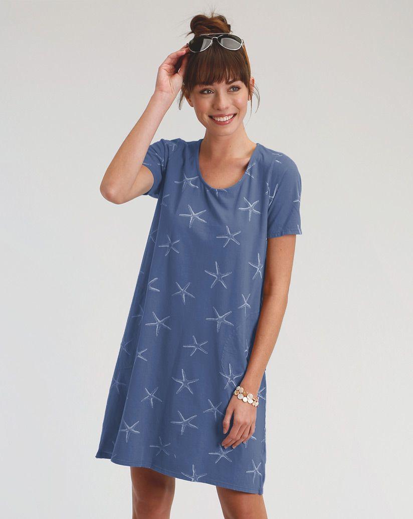 White Sea Star Allure T Shirt Dress Style Makeup Pinterest