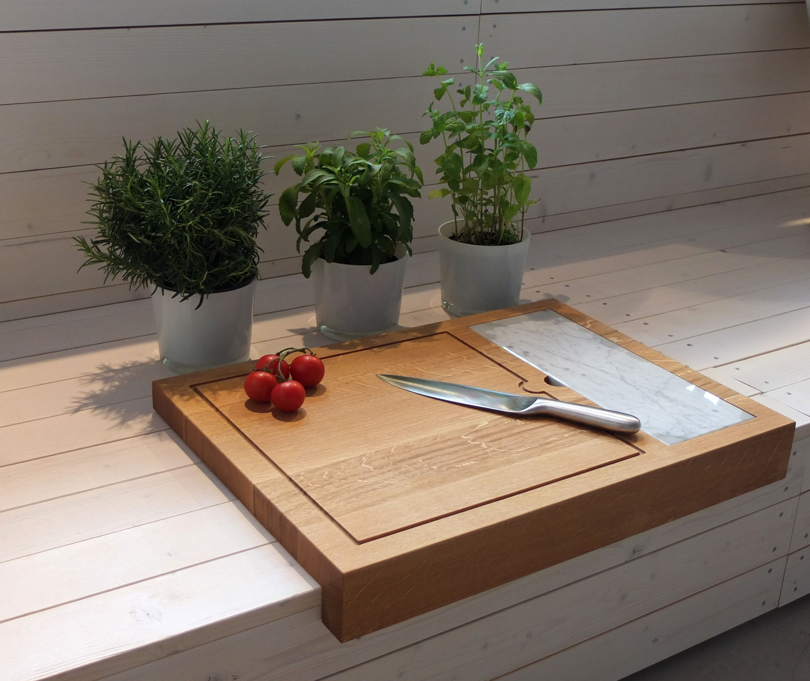 Holz Factory schneidebrett big johann holz marmor entworfenes küche