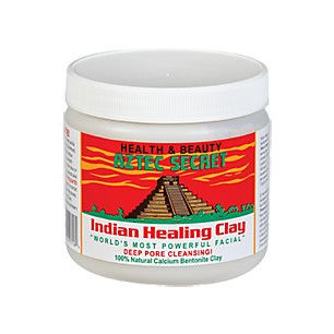 Bentonite Indian Healing Clay (1 Pound Clay)  by Aztec Secret at the Vitamin Shoppe