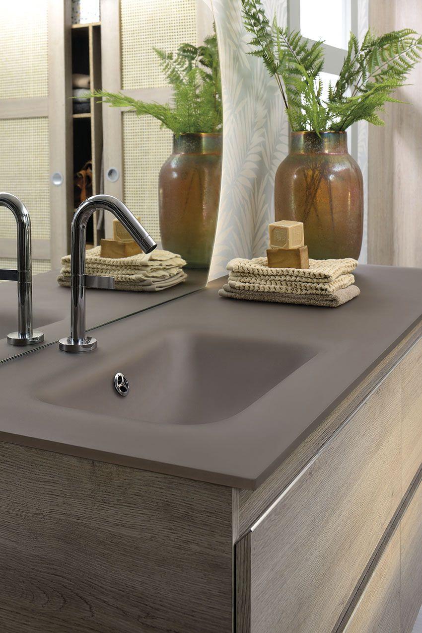 La gamme Lumen : des meubles de salle de bain version XL. Ce ...